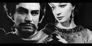 Laurence Olivier en Vivian Leigh Stratford on Avon, 1955