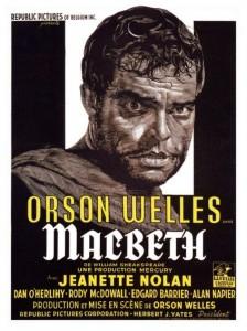 macbeth affiche film orson welles