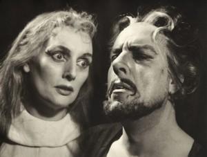 Ank van der Moer en Ko van Dijk Nederlandse Comedie, 1957