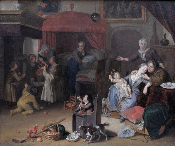 a Sint Richard Brakenburg, Het Sint Nicolaasfeest 1700