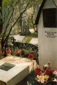 Moskou 1989 begraafplaats 7, Anton Tsjechov en Olga Knipper